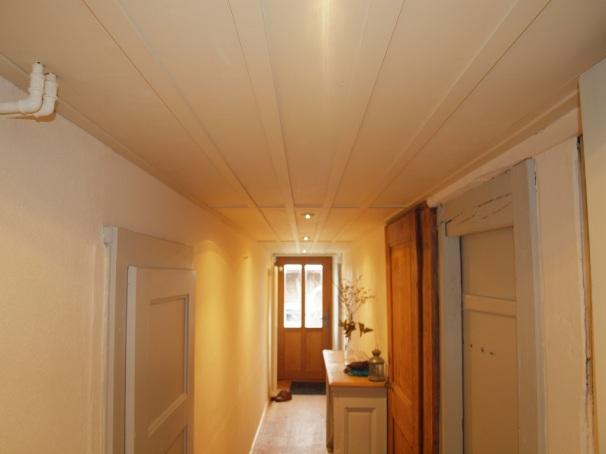 Plafond en sapin massif